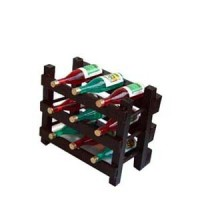 (*) Dollhouse Filled Wine Rack - Product Image