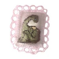 § Disc $10 Off - Dollhouse Baby Dino Pillow - Product Image