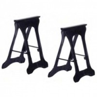 2 Metal Dollhouse Sawhorses - Product Image