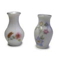§ Sale .40¢ Off - Dollhouse Decorated Vase - Product Image