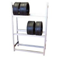 (**) Dollhouse Large Tire Rack - Product Image