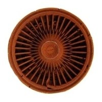 Dollhouse Rusty Hub Cap - Product Image