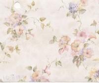 § Sale $3 Off - 3 Shts Mauve Morning Glories Paper - Product Image