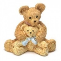 Assorted Dollhouse Miniature Toy Teddy Bear - Product Image