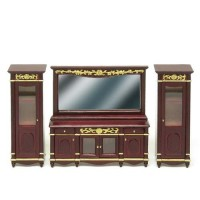 Dollhouse Mirror Buffet / Cabinets - Product Image