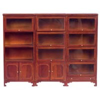 Dollhouse Lawyers Bookcases - Product Image