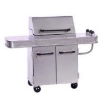 (*) Dollhouse Silver Bar-B-Q Grill - Product Image