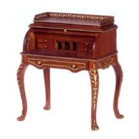 Dollhouse Rochelle Lady's Rolltop Desk by Bespaq - Product Image
