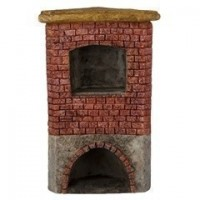 Rustic Outdoor Fireplace/Wood-Fired Pizza Oven - Product Image