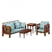 Dollhouse Modern Family Room Furniture - Product Image