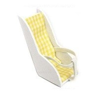 (*) Dollhouse White & Yellow Baby Carrier - Product Image