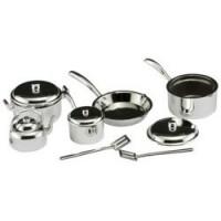 Sale $1 Off - Silver Budget Pot & Pan Set - Product Image