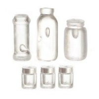 6 pc. Assorted Empty Jars - Product Image