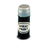 § Sale .50¢ Off - Real Metal Spray Paint Can - Product Image