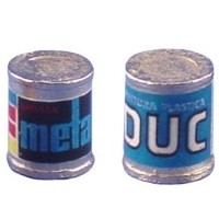 § Disc .60¢ Off - DUC Real Metal Paint Cans - Product Image