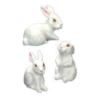Dollhouse 3 pc Assorted Rabbit Sets - Product Image