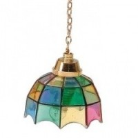 (*) Dollhouse Multi Color Hanging Tiffany - Product Image
