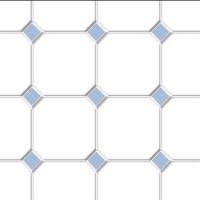 Dollhouse Diamond Tile Flooring- Choice of Color - - Product Image