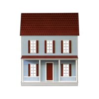 QuickBuildTM Imagination House Dollhouse Kit - Product Image