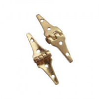 Dollhouse Miniature Triangle Hinges - Product Image