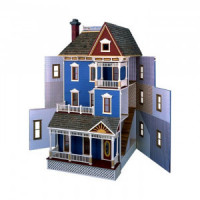 The San Francisco Dollhouse (Kit) - Product Image