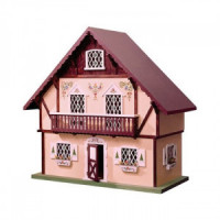 Swiss Chalet Dollhouse (Kit) - Product Image