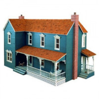 Dollhouse Farmhouse Shell (Kit) # 6 - Product Image