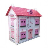 The Diamond House(Junior Miniature Dollhouse Kit) - Product Image