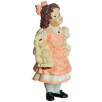 (§) Disc $1 Off - Dollhouse Doll - Girl with Doll - Product Image