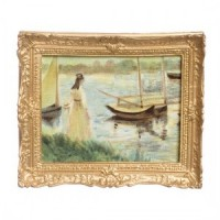 § Disc $10 Off - Oil Painting - Waiting to Sail - Product Image