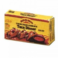 § Disc .50¢ Off - Dollhouse Taco Dinner Box - Product Image