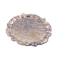 § Disc .60¢ Off - Dollhouse Round Nickel Tray - Product Image