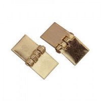 § Sale $1 Off - Dollhouse Gold Plated Square Hinges - Product Image