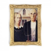 § Sale $2 Off - American Gothic Picture - Product Image