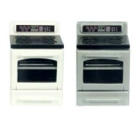 (§) Disc. $3 Off - Dollhouse Modern Electric Stove - Product Image